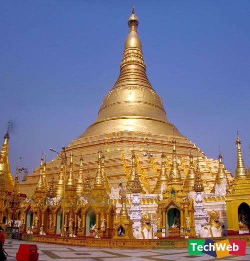 没有人知道位於缅甸仰光的大金寺建於何年,传说中,它已经有-世界